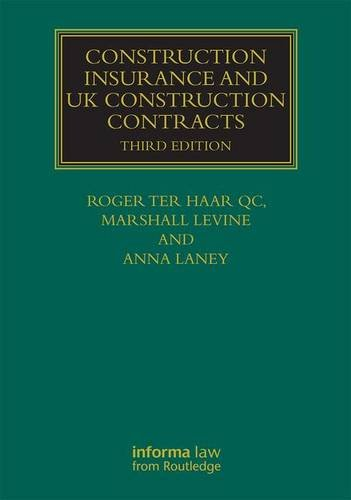 9781138888944: Construction Insurance and UK Construction Contracts (Construction Practice Series)
