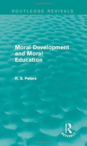 9781138890565: Moral Development and Moral Education (Routledge Revivals)