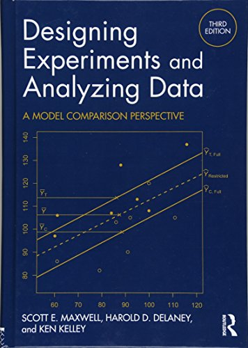 9781138892286: Designing Experiments and Analyzing Data: A Model Comparison Perspective, Third Edition