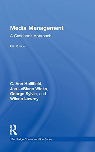 9781138901018: Media Management: A Casebook Approach (Routledge Communication Series)