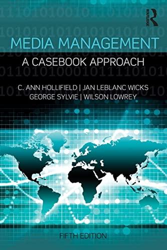 9781138901025: Media Management (Routledge Communication Series)
