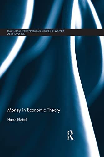 9781138901254: Money in Economic Theory