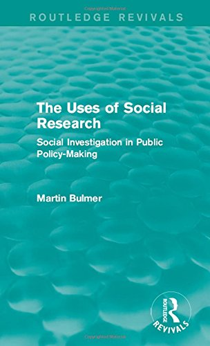 9781138902336: The Uses of Social Research (Routledge Revivals): Social Investigation in Public Policy-Making