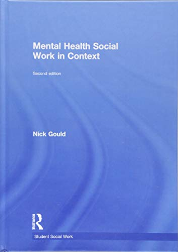 9781138905672: Mental Health Social Work in Context (Student Social Work)