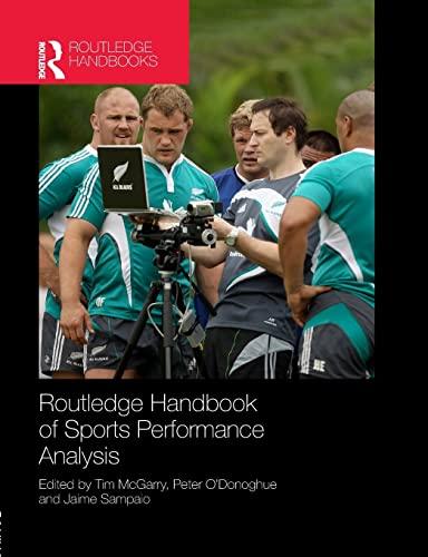 9781138908208: Routledge Handbook of Sports Performance Analysis (Routledge International Handbooks)