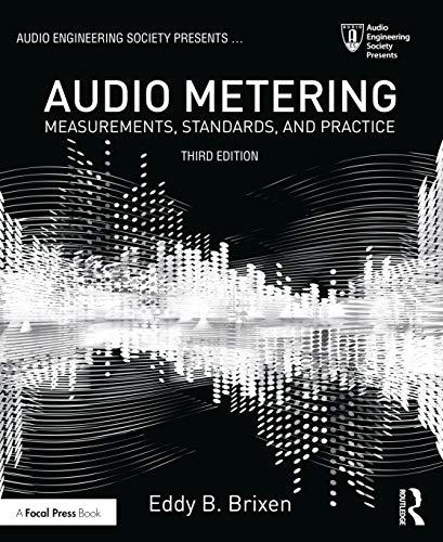 9781138909113: Audio Metering: Measurements, Standards and Practice (Audio Engineering Society Presents)