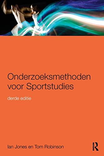 9781138909342: Onderzoeksmethoden voor Sportstudies: 3e druk