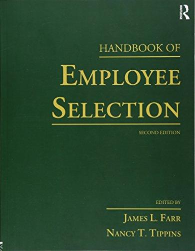 9781138915497: Handbook of Employee Selection