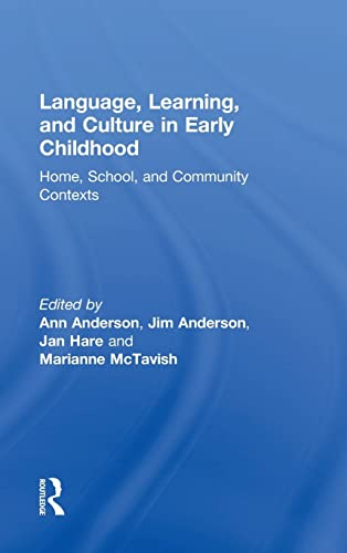 9781138920828: Language, Learning, and Culture in Early Childhood: Home, School, and Community Contexts