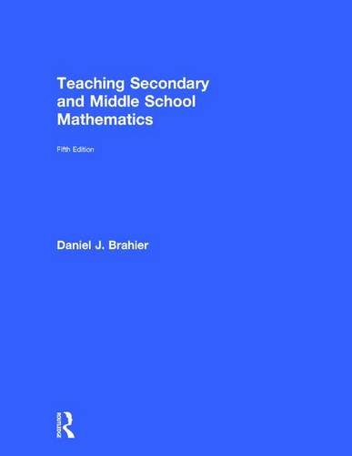 9781138922778: Teaching Secondary and Middle School Mathematics
