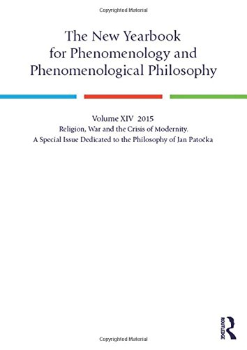 The New Yearbook for Phenomenology and Phenomenological: Hagedorn, Ludger [Editor];