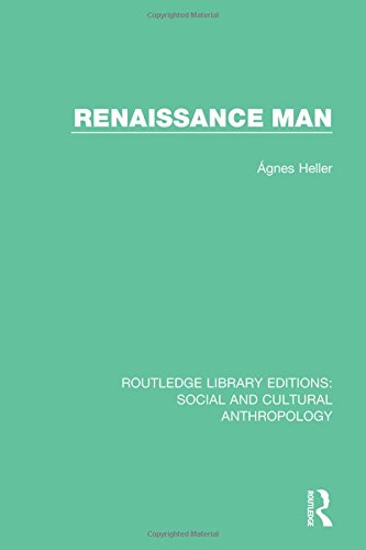 9781138927520: Renaissance Man (Routledge Library Editions: Social and Cultural Anthropology) (Volume 7)