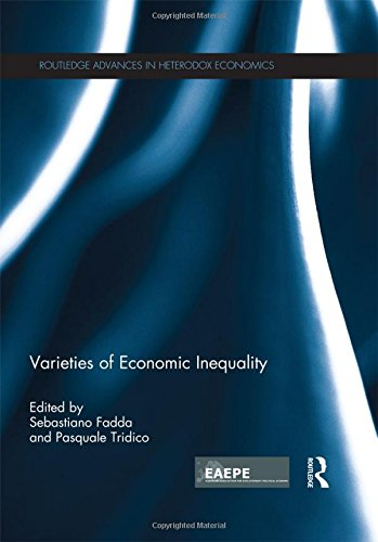 9781138928015: Varieties of Economic Inequality (Routledge Advances in Heterodox Economics)