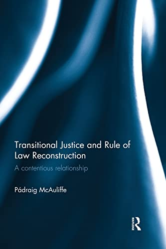 9781138930070: Transitional Justice and Rule of Law Reconstruction: A Contentious Relationship