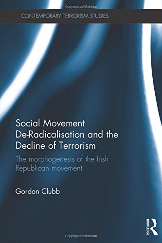 9781138933941: Social Movement De-Radicalisation and the Decline of Terrorism: The Morphogenesis of the Irish Republican Movement (Contemporary Terrorism Studies)