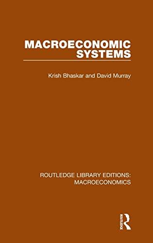 9781138935600: Macroeconomic Systems (Routledge Library Editions: Macroeconomics) (Volume 1)