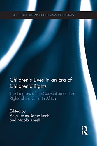 Children?s Lives in an Era of Children?s