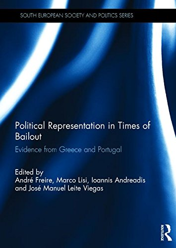 9781138939028: Political Representation in Times of Bailout: Evidence from Greece and Portugal (South European Society and Politics)