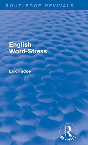 9781138939530: English Word-Stress (Routledge Revivals)