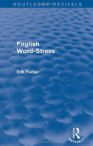 9781138939547: English Word-Stress (Routledge Revivals)