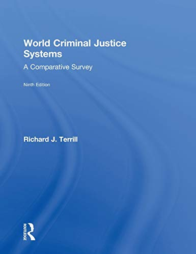 9781138940864: World Criminal Justice Systems: A Comparative Survey