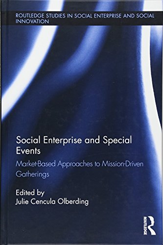 9781138942301: Social Enterprise and Special Events (Routledge Studies in Social Enterprise & Social Innovation)