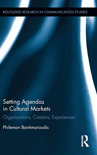 Setting The Agenda In Cultural Markets: Bantimaroudis, Philemon (university