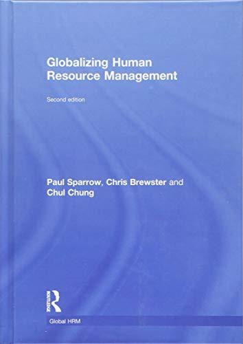 9781138945302: Globalizing Human Resource Management (Global HRM)