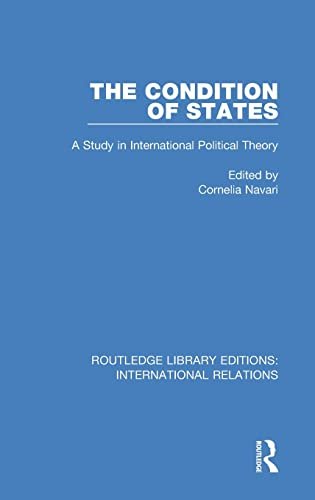 9781138948839: The Condition of States (Routledge Library Editions: International Relations) (Volume 8)