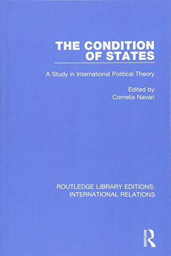 9781138948846: The Condition of States (Routledge Library Editions: International Relations)