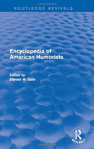 Encyclopedia of American Humorists (Hardback)