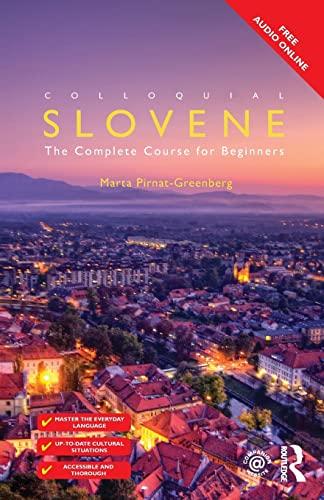 Colloquial Slovene: Marta Pirnat-Greenberg