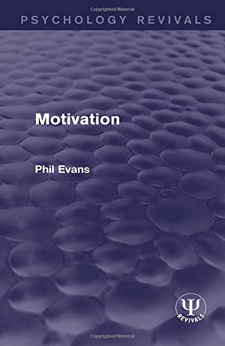 9781138952393: Motivation (Psychology Revivals)