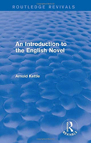 9781138954410: An Introduction to the English Novel (2 Vols) (Routledge Revivals: An Introduction to the English Novel)