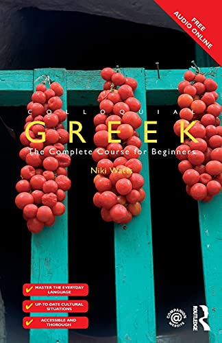 9781138958333: Colloquial Greek (Colloquial Series (Book Only))