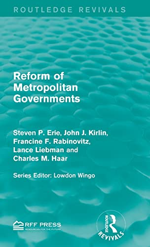 9781138960817: Reform of Metropolitan Governments (Routledge Revivals)