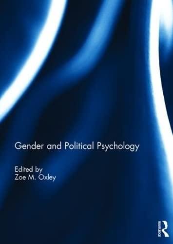 9781138961036: Gender and Political Psychology