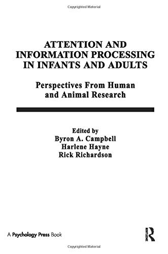 9781138964082: Attention and information Processing in infants and Adults: Perspectives From Human and Animal Research