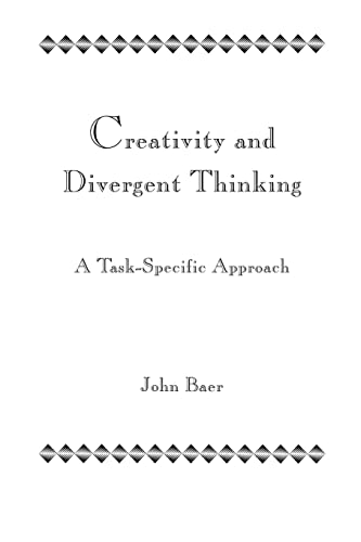 9781138966932: Creativity and Divergent Thinking: A Task-Specific Approach