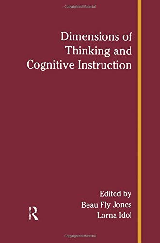 Dimensions of Thinking and Cognitive Instruction: JONES, BEAU FLY;