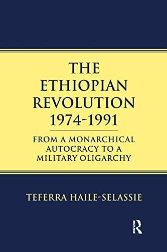 9781138969032: Ethiopian Revolution