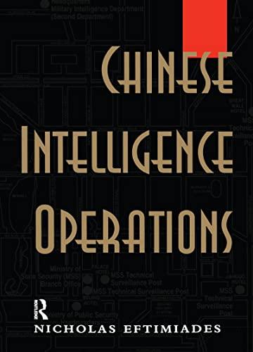 9781138970557: Chinese Intelligence Operations: Espionage Damage Assessment Branch, US Defence Intelligence Agency