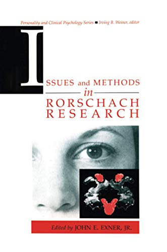 9781138973466: Issues and Methods in Rorschach Research