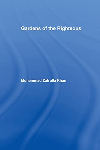 9781138974906: Gardens of the Righteous