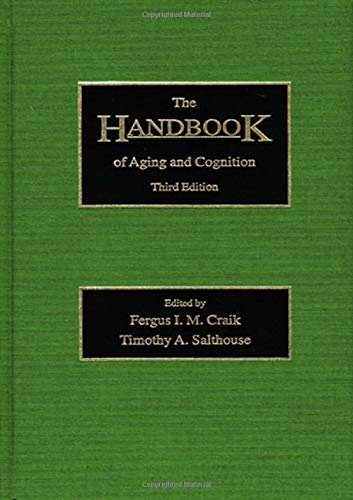 9781138975705: The Handbook of Aging and Cognition: Third Edition