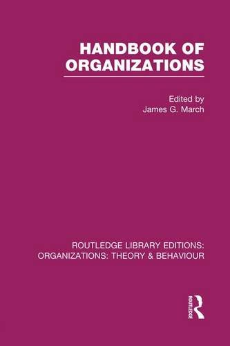 9781138975750: Handbook of Organizations (RLE: Organizations) (Routledge Library Editions: Organizations)