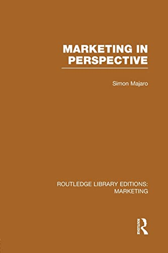 9781138980471: Marketing in Perspective (RLE Marketing) (Routledge Library Editions: Marketing)