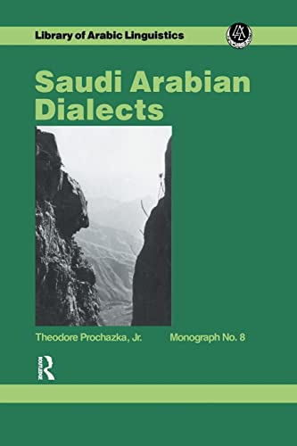 Saudi Arabian Dialects: Prochazka