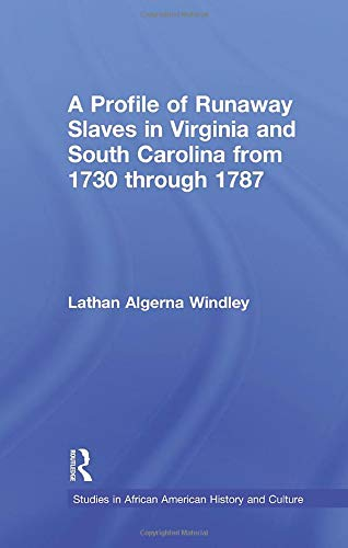 A Profile of Runaway Slaves in Virginia: WINDLEY, LATHAN A.