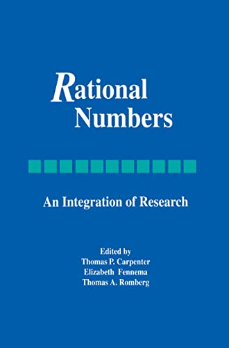 9781138984530: Rational Numbers: An Integration of Research (Studies in Mathematical Thinking and Learning Series)